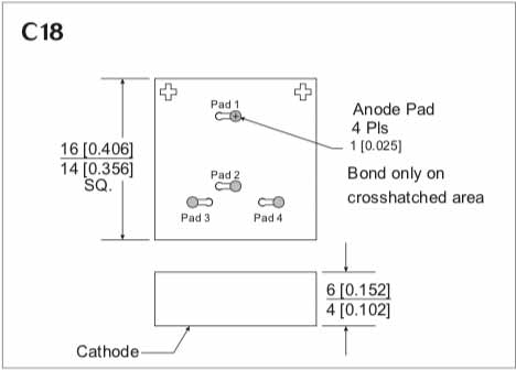 MBD 1047-C18 Tunnel Diode